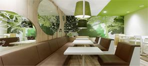 会呼吸的Wienerwald餐厅设计