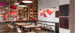 幸福味道--Rozove红粉佳人餐厅设计