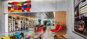 商业空间设计实例|圣保罗食品店