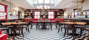店面设计|Cafe Rouge连锁咖啡馆设计
