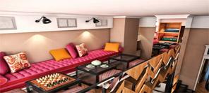 空间设计|Targoviste咖啡馆设计
