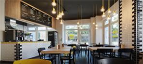 空间设计|德国汉堡店Burger explosion餐厅设计
