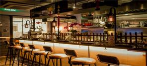 空间设计 不夜城里的crafty cow餐厅设计