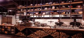 空间设计 乌克兰基辅Lucky Luciano特色餐厅设计