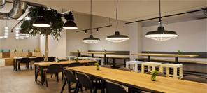空间设计 法兰克福jamy′s汉堡餐厅