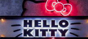 空间设计 悉尼hello kitty餐厅,褪去少女粉