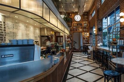 伴着书香品尝美食--以色列DADA&DA餐厅设计