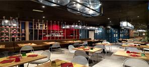 空间设计 Pizzikotto餐厅设计