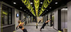 空间设计  TRX BOX BAR健身俱乐部