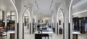 空间设计 墨尔本David Jones奢侈品旗舰店设计