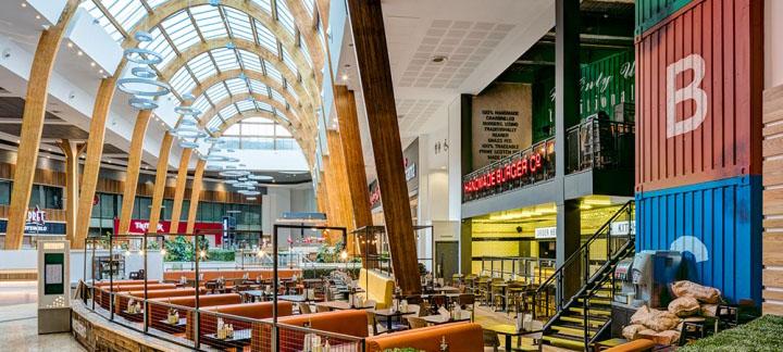 空间设计 格拉斯创意工业风汉堡店设计