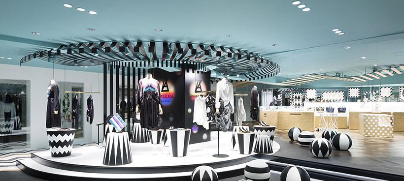 空间设计|涩谷西武百货设计