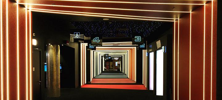 空间设计 波兰Helios创意影院设计