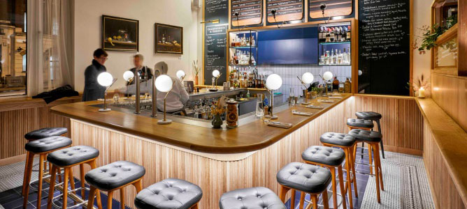 空间设计|The modern pantry现代餐厅设计