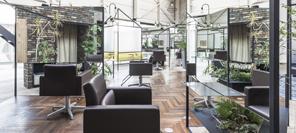 空间设计 多重折射空间-日本理发店设计