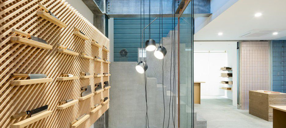 空间设计|日本刀具店设计