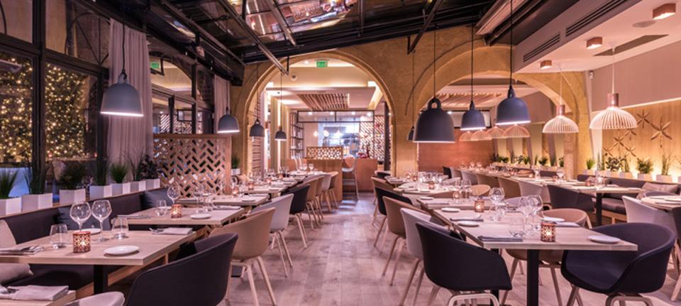空间设计|法国现代风餐厅
