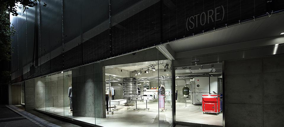 空间设计|东京时尚零售店设计