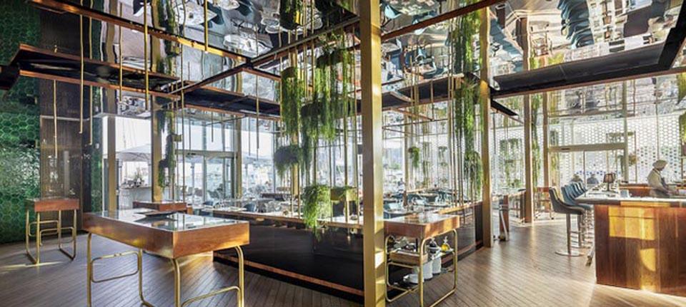 空间设计 巴塞罗那OneOcean Club餐厅设计