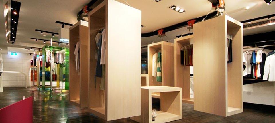 空间设计 台北ECLAT零售店设计