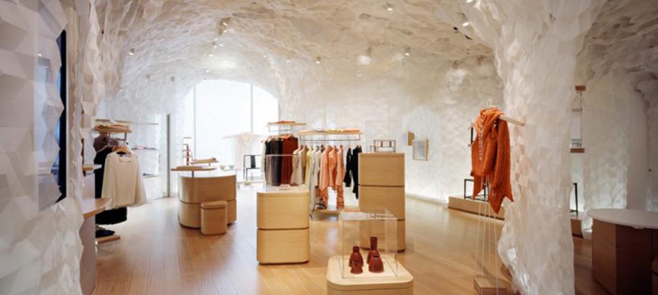 空间设计 上海时尚品门店设计