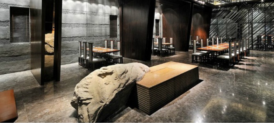 空间设计 一间美到不可方物的日本料理餐厅