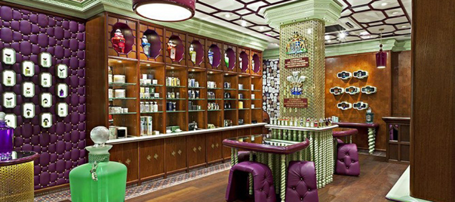 空间设计|国外一家有特色的香水店设计
