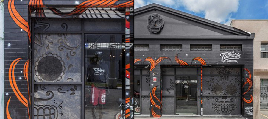 空间设计|圣保罗纹身艺术空间