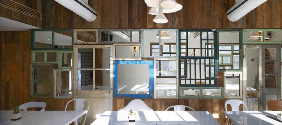 空间设计 北京胡同里的餐厅