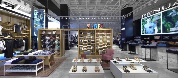 陈列设计|以色列服装店设计