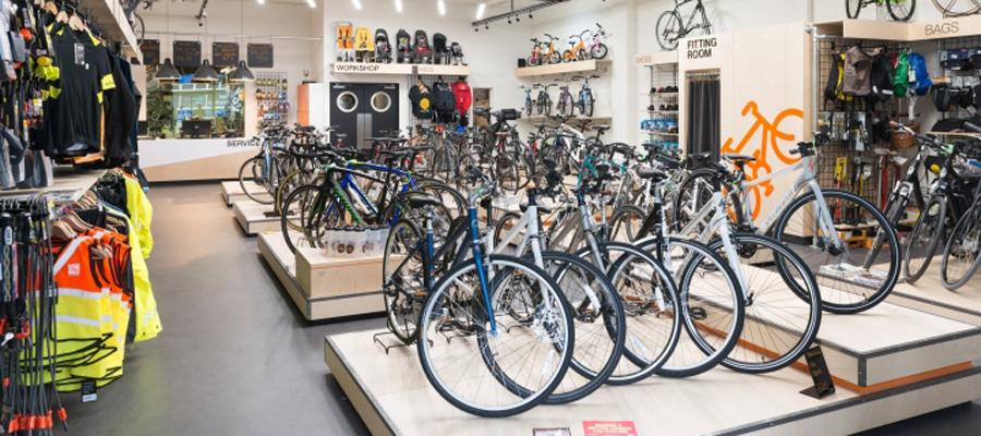 店面设计很重要【London Fields自行车店空间设计】