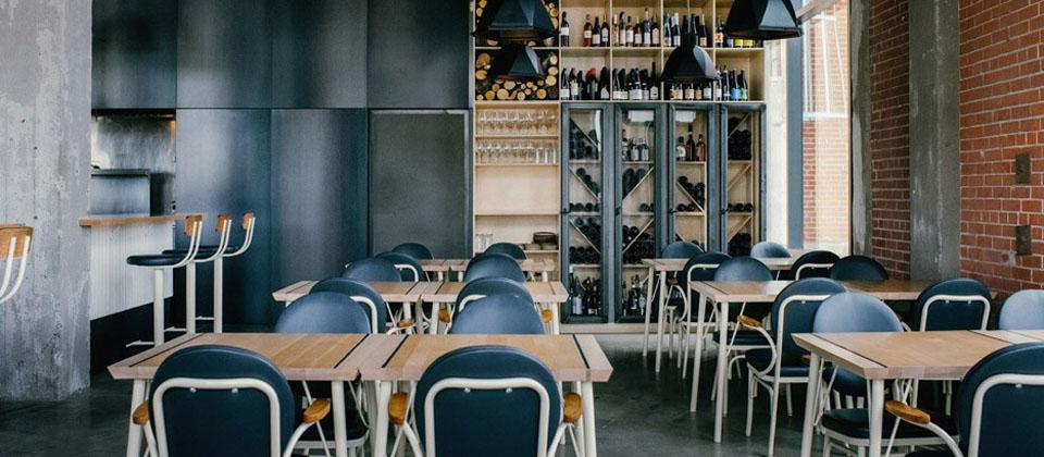 空间设计 旧蒙特利尔工厂改造成了现代的餐厅